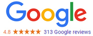 google review rating