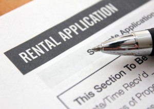 San Antonio rental application