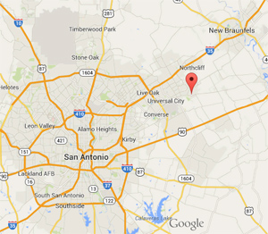 Cibolo TX Property Management area map