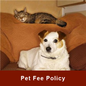 Pet Fee Policy Larsen Properties