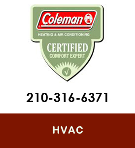 Coleman SErvicing HVAC San Antonio