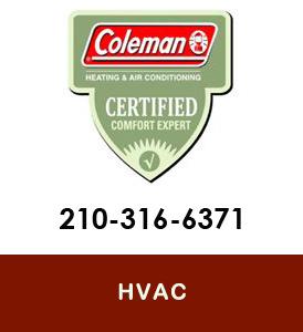 Coleman SErvicing HVAC San Antonio