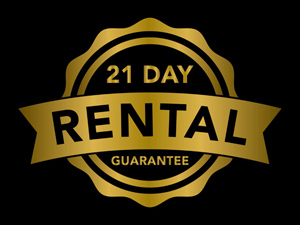 San Antonio 21 Day Rental Guarantee