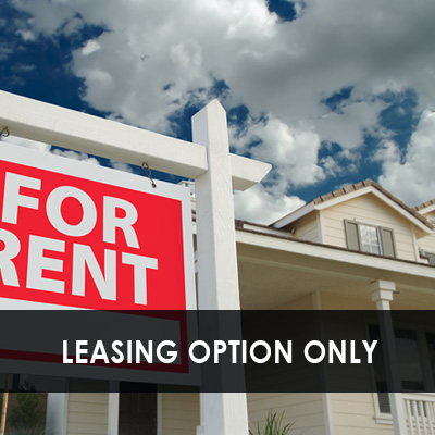 Leasing Option Only
