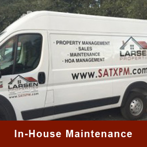 Larsen Properties In-House Maintenance